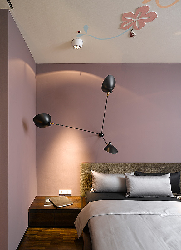 wohnung s ippolito fleitz group. Black Bedroom Furniture Sets. Home Design Ideas
