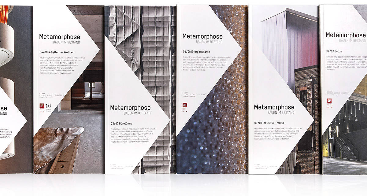 Metamorphose, Stuttgart. A project by Ippolito Fleitz Group – Identity Architects.