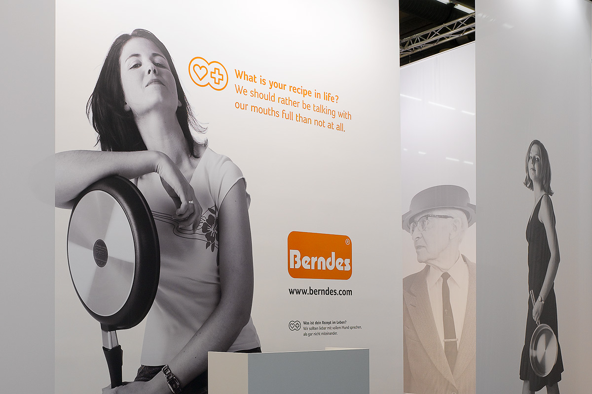 Berndes – Ambiente 2007, Frankfurt. A project by Ippolito Fleitz Group – Identity Architects.