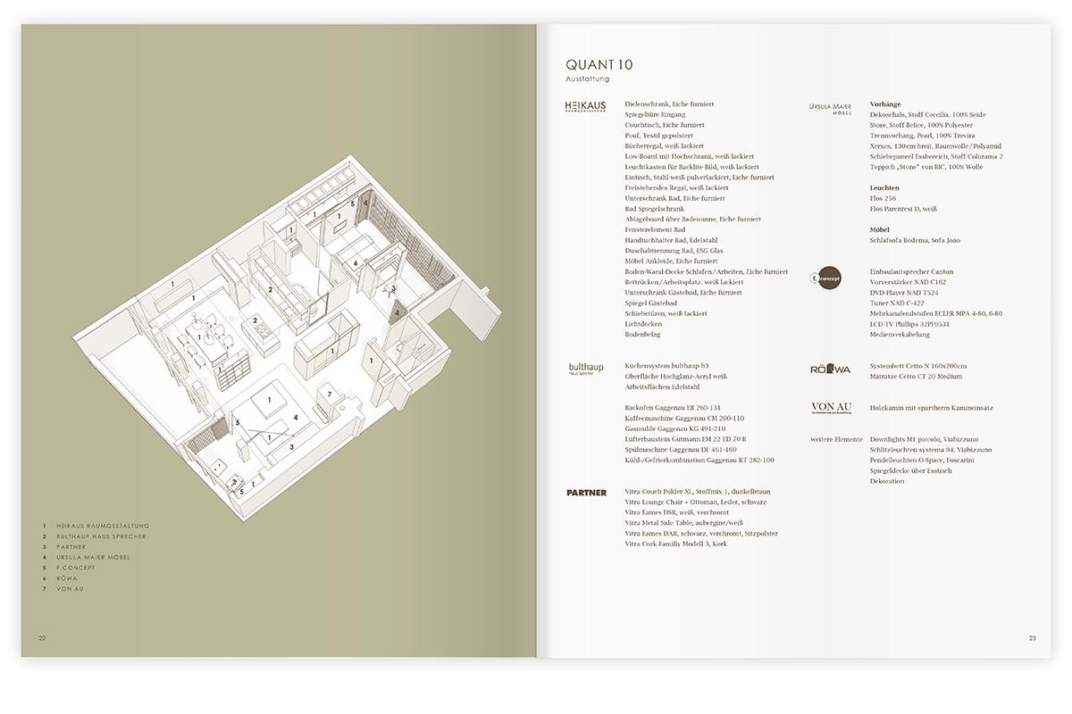 quant 住宅宣传册图片