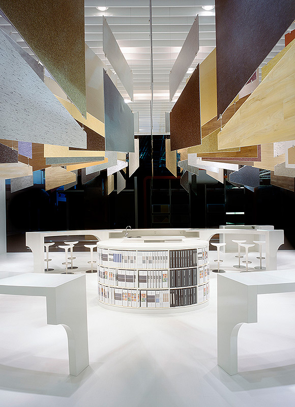 Armstrong DLW – Euroshop 2008, Duesseldorf. A project by Ippolito Fleitz Group – Identity Architects.