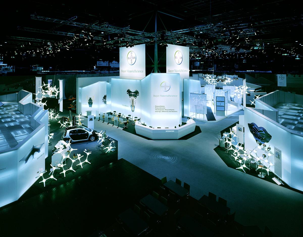 Exhibition Fair Stand Design : Bayer materialscience ag plastics fair « — ippolito