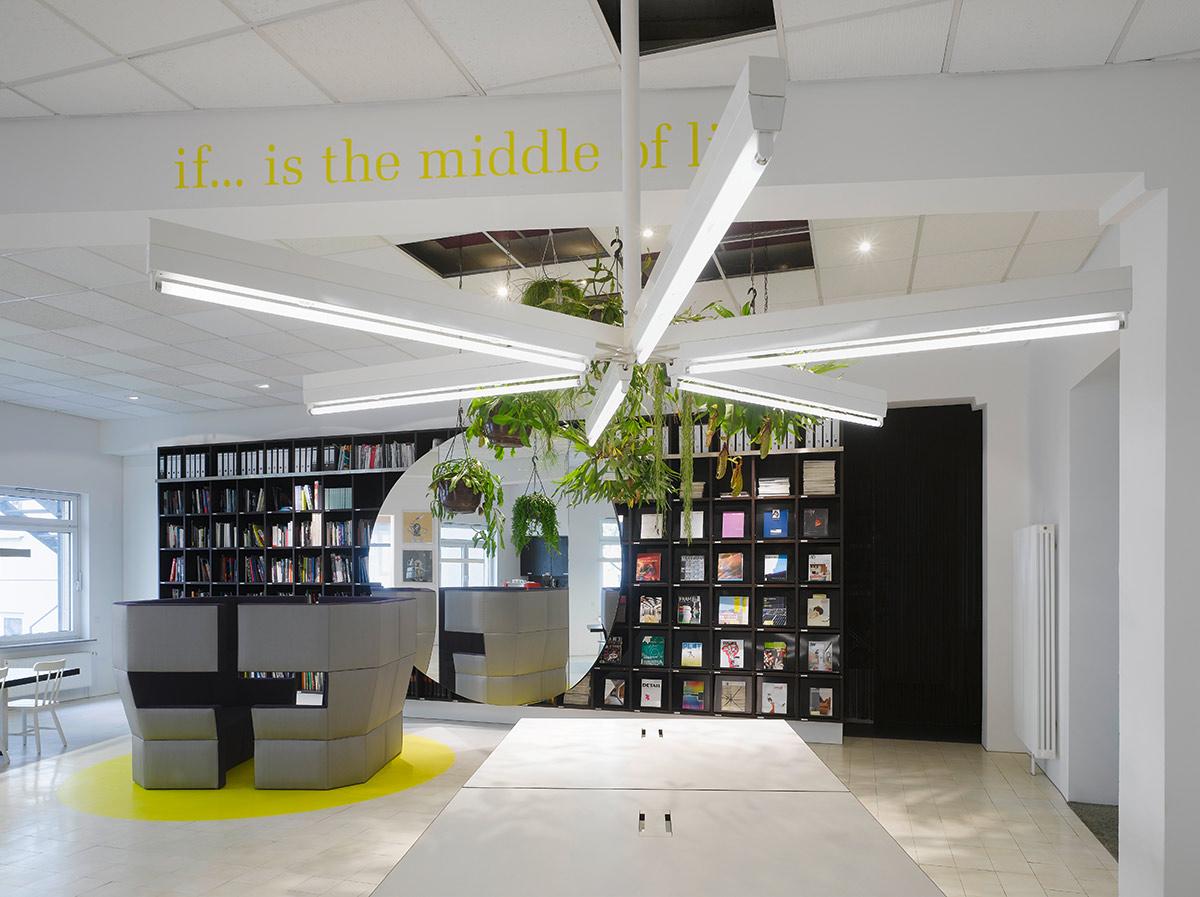 office studio design. Studio Ippolito Fleitz Group, Stuttgart. A Project By Group \u2013 Identity Architects Office Design