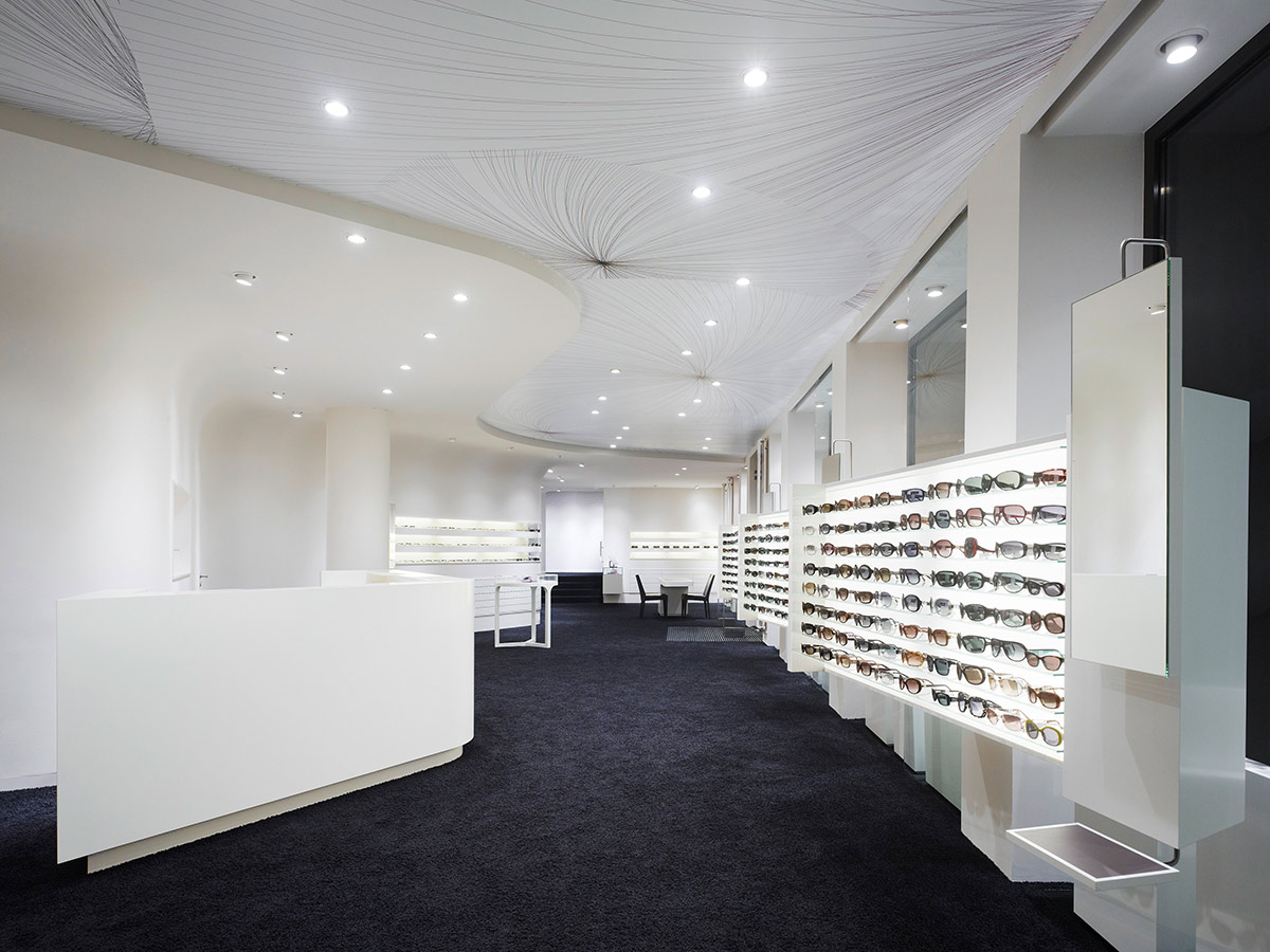 Conradt Optik, Mosbach. A project by Ippolito Fleitz Group – Identity Architects, Floors.