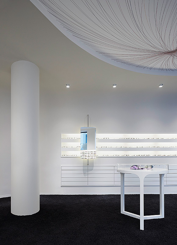 Conradt Optik, Mosbach. A project by Ippolito Fleitz Group – Identity Architects.
