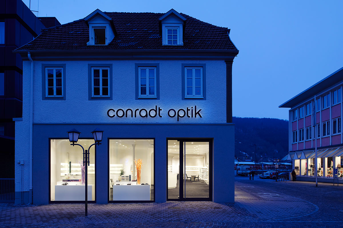 Conradt Optik. A project by Ippolito Fleitz Group – Identity Architects.