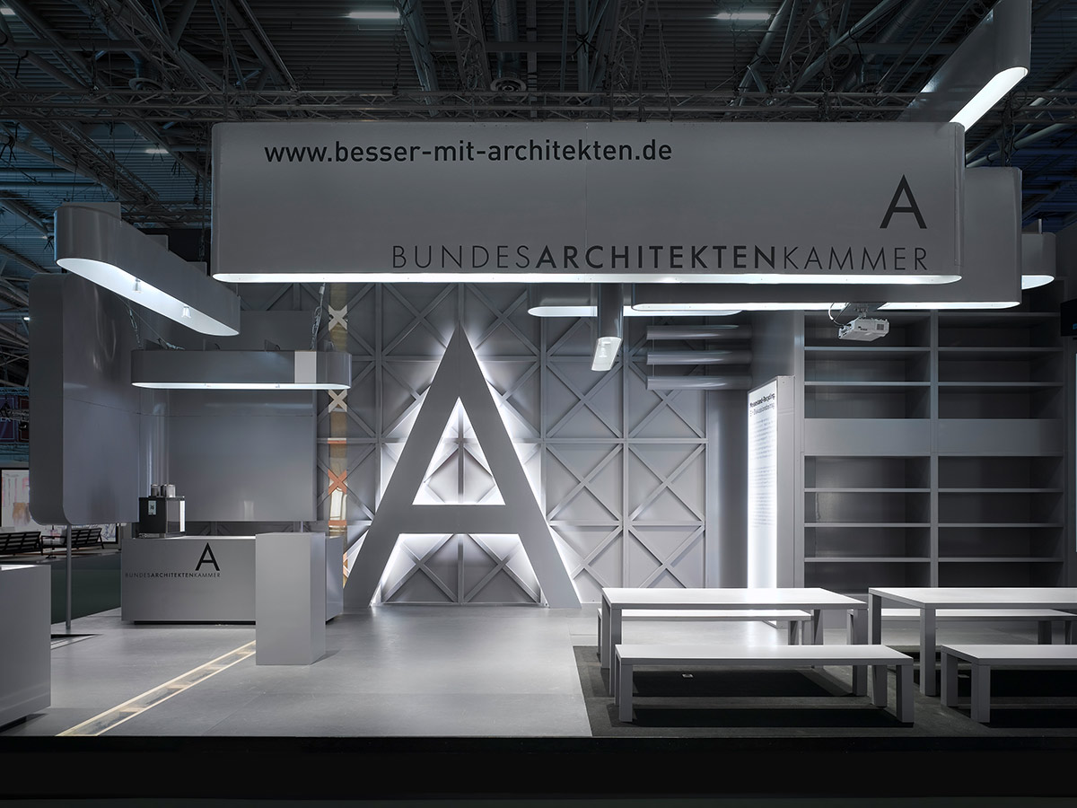 BAK – Exporeal 2008, Munich. A project by Ippolito Fleitz Group – Identity Architects.