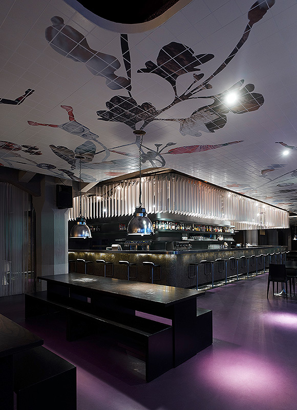 Club Mash, Stuttgart. A project by Ippolito Fleitz Group – Identity Architects.