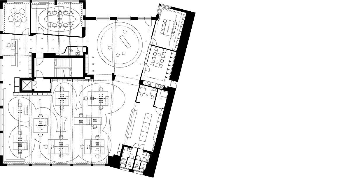 agentur bruce b ippolito fleitz group. Black Bedroom Furniture Sets. Home Design Ideas