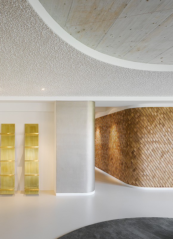 Bruce B. Advertising Agency, Stuttgart. A project by Ippolito Fleitz Group – Identity Architects, Ceilings.