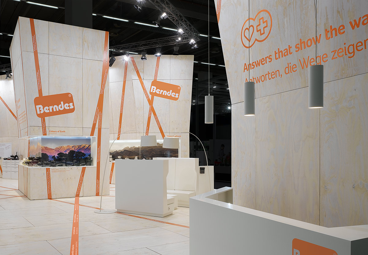 Berndes – Ambiente 2009, Frankfurt. A project by Ippolito Fleitz Group – Identity Architects.