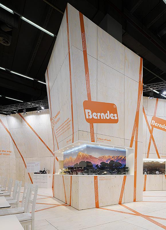 Berndes – Ambiente 2009, Frankfurt. Ein Projekt von Ippolito Fleitz Group – Identity Architects.