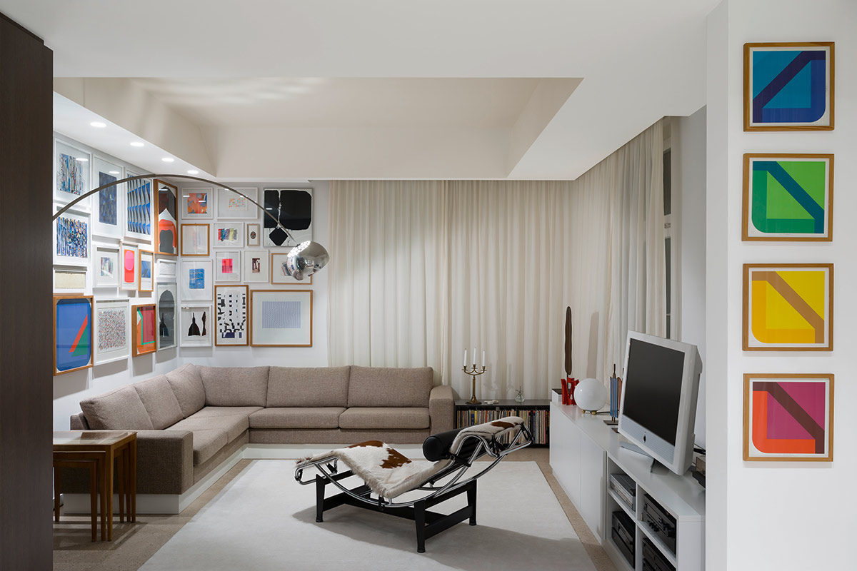 Apartment FS, Stuttgart. A project by Ippolito Fleitz Group – Identity Architects.