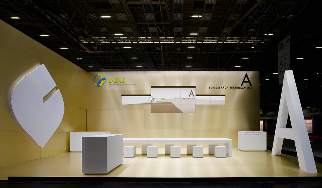 BAK / DGNB – Exporeal 2009, Munich. A project by Ippolito Fleitz Group – Identity Architects.