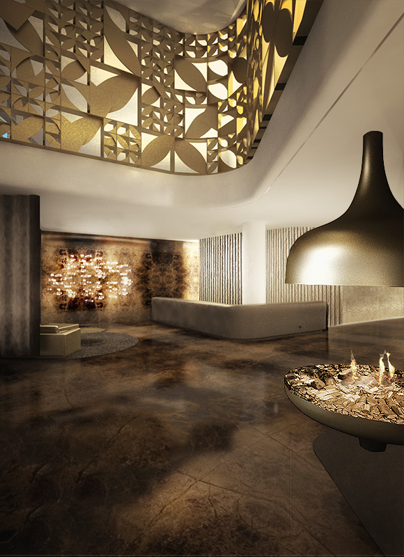 Five Star Hotel Berlin, Berlin. A project by Ippolito Fleitz Group – Identity Architects.