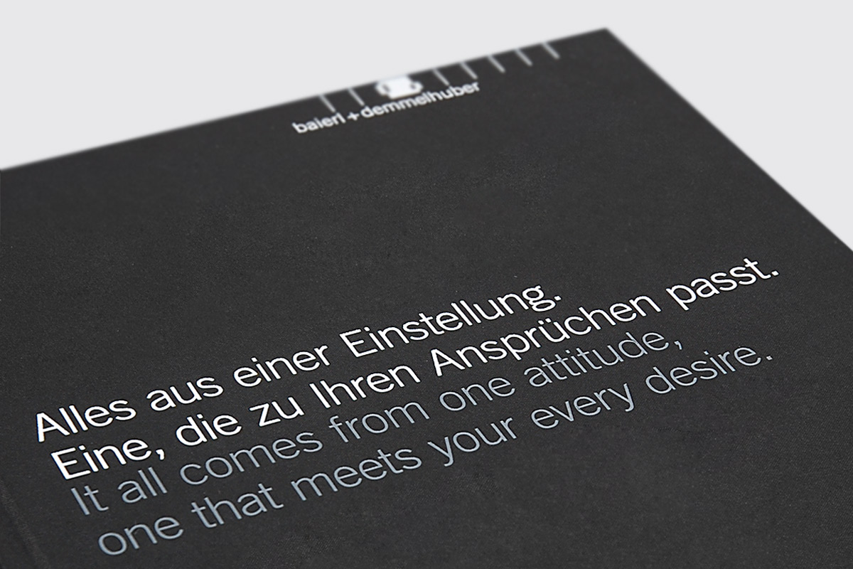 Baierl & Demmelhuber, Töging. A project by Ippolito Fleitz Group – Identity Architects.