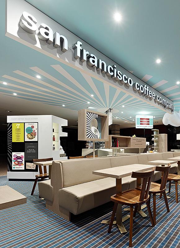 San Francisco Coffee Company, Hamburg. A project by Ippolito Fleitz Group – Identity Architects, Memory.