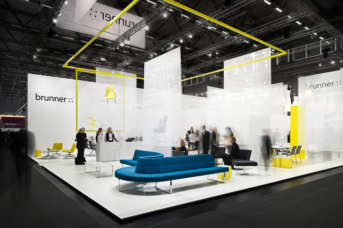 Exhibition Stand Design In Germany : Brunner orgatec « — ippolito fleitz group