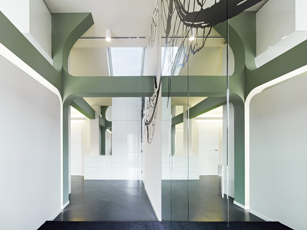 Apartment D, Stuttgart. A project by Ippolito Fleitz Group – Identity Architects, Surfaces.
