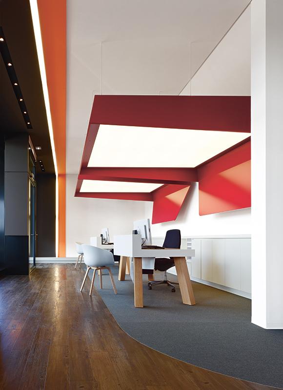 Helsana. A project by Ippolito Fleitz Group – Identity Architects.