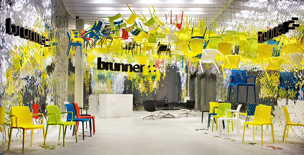 Brunner – Salone Milan 2011, Milan. A project by Ippolito Fleitz Group – Identity Architects.