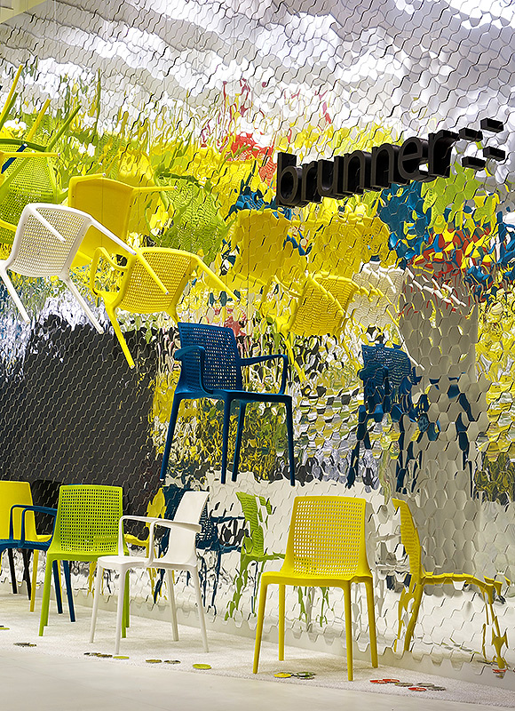 Brunner – Salone Milan 2011, Milan. A project by Ippolito Fleitz Group – Identity Architects, Seating.