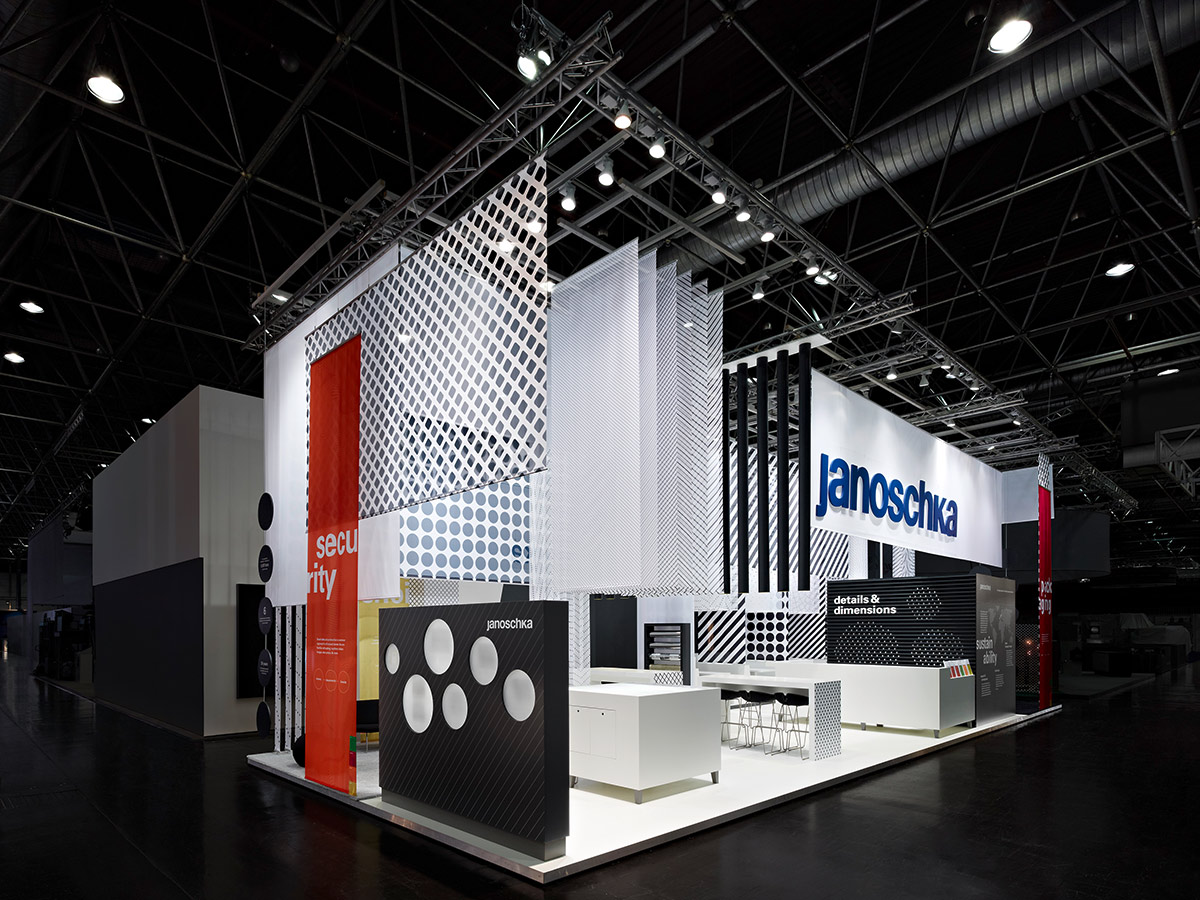 Exhibition Stand Systems : Janoschka drupa « — ippolito fleitz group