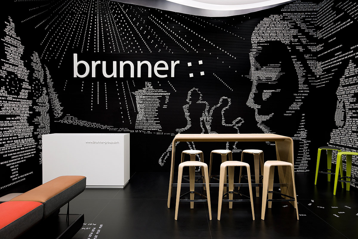Brunner – Salone Milano 2012, Milan. A project by Ippolito Fleitz Group – Identity Architects.
