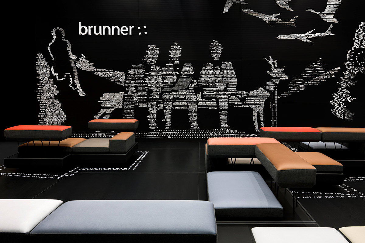 Brunner – Salone Milano 2012, Milan. A project by Ippolito Fleitz Group – Identity Architects, Seating.