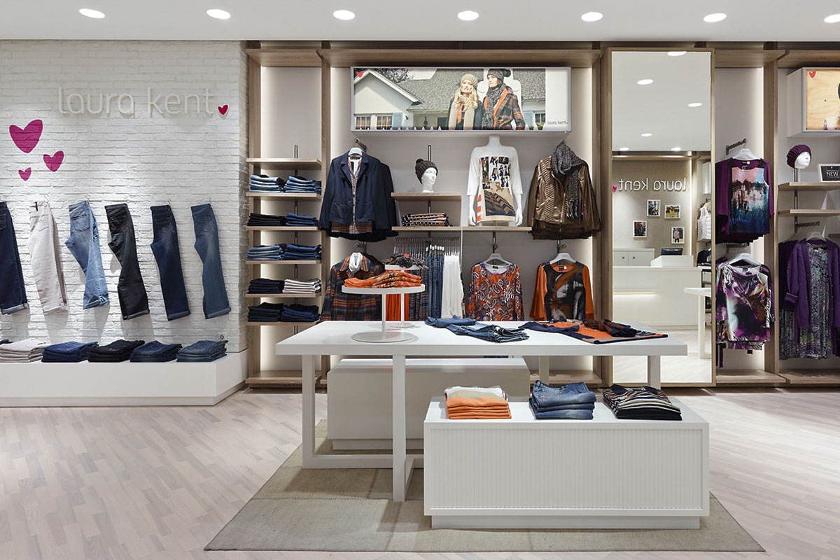 Laura Kent Store Frankfurt, Frankfurt. A project by Ippolito Fleitz Group – Identity Architects, Floors.