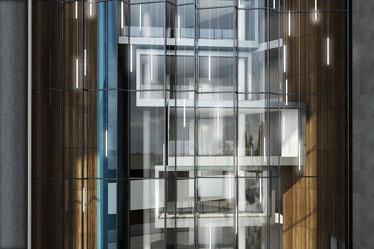 Merton Areal, Frankfurt. Ein Projekt von Ippolito Fleitz Group – Identity Architects.