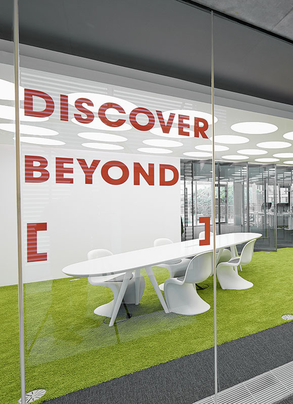 Innocean Headquarters Europe, Frankfurt. A project by Ippolito Fleitz Group – Identity Architects.