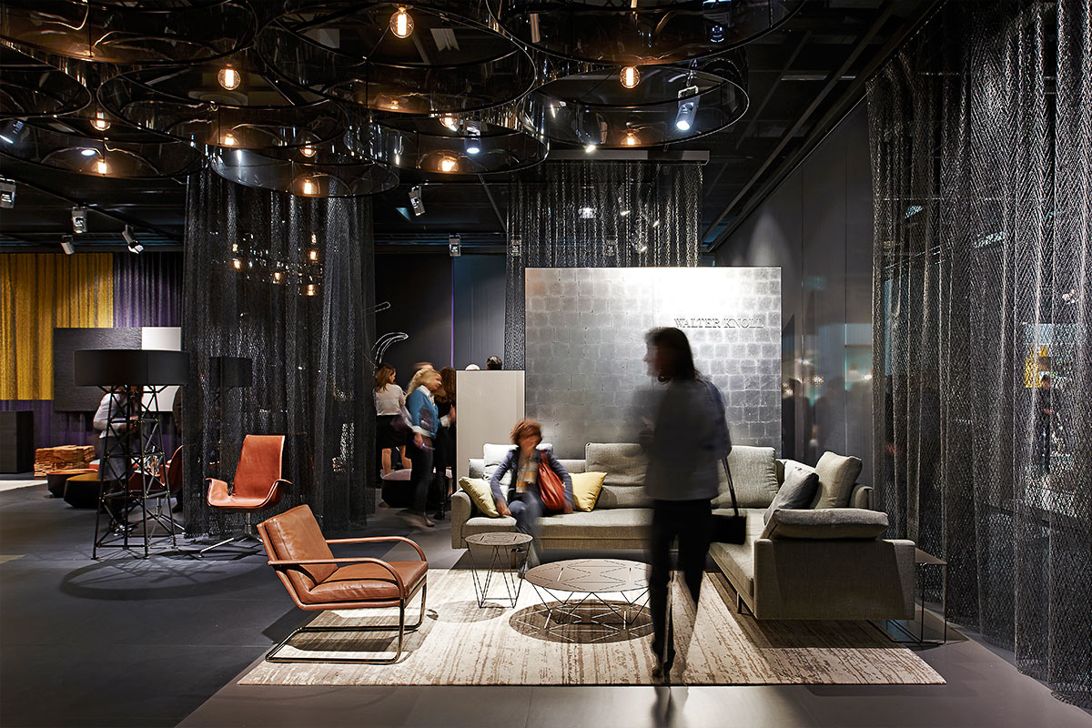 Simple Exhibition Stand For : Walter knoll imm cologne « — ippolito fleitz group