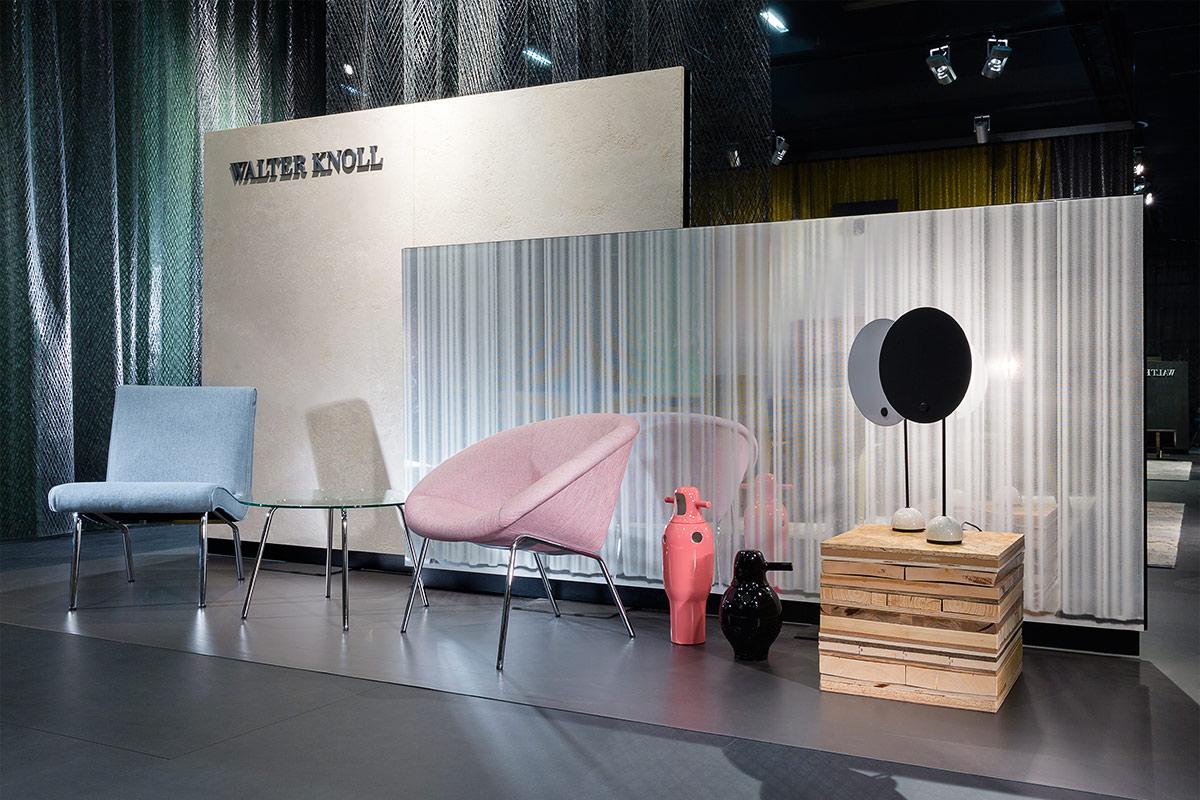 Walter knoll imm cologne 14 ippolito fleitz group for Cortinas transparentes