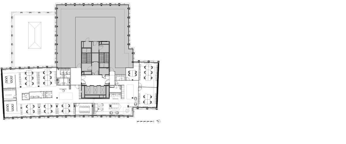 Motel one head office und one university ippolito for Motel one zimmer grundriss