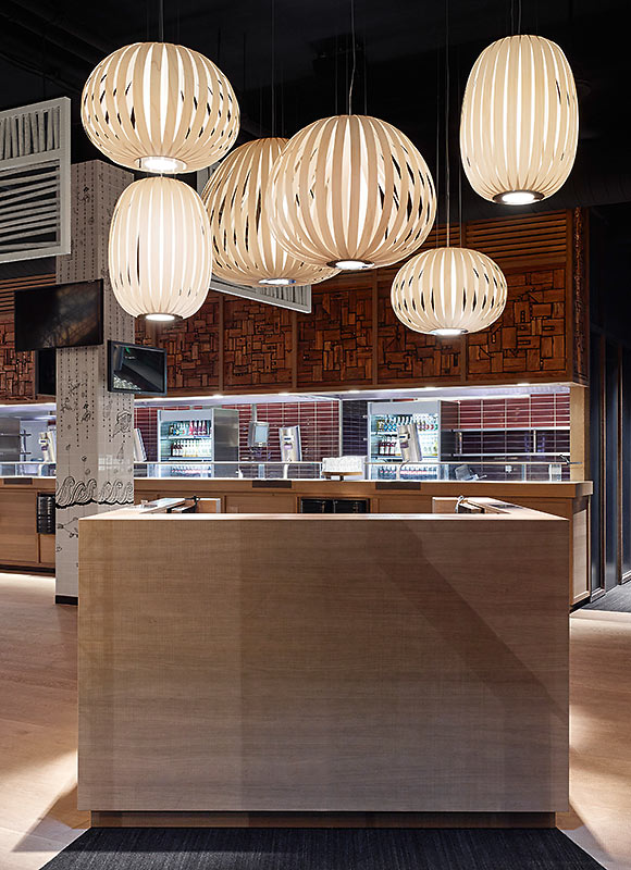 GinYuu Stuttgart, Stuttgart. A project by Ippolito Fleitz Group – Identity Architects.