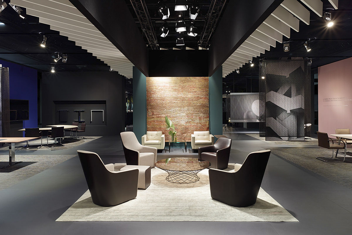 Walter knoll orgatec 2014 cologne a project by ippolito fleitz group identity