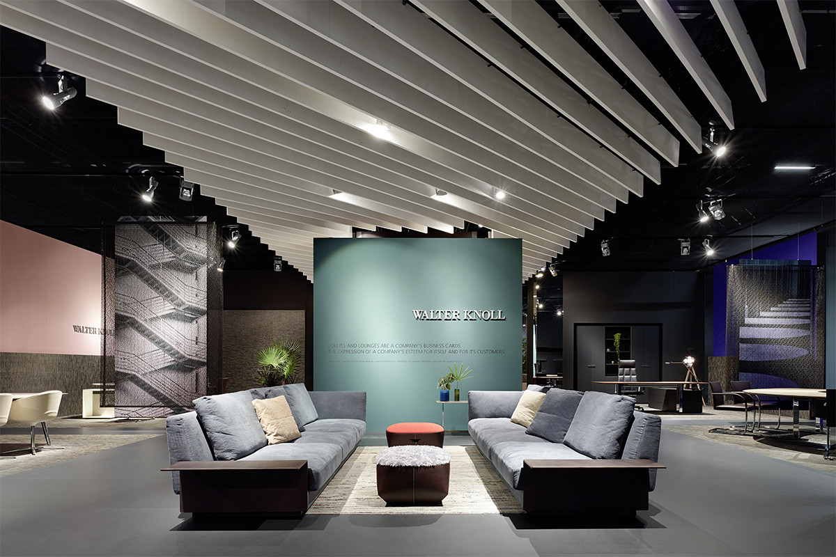 WALTER KNOLL – Orgatec 2014, Cologne. A project by Ippolito Fleitz Group – Identity Architects.
