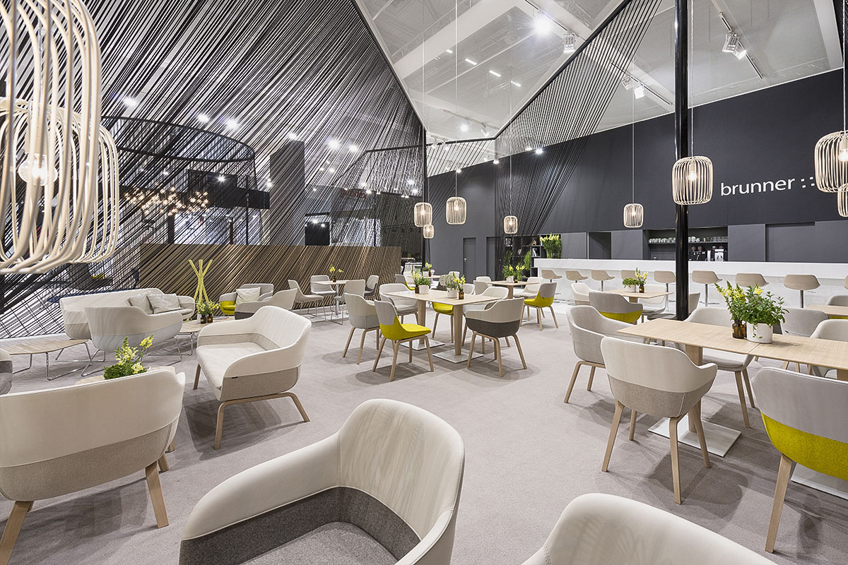 Brunner orgatec 2014 ippolito fleitz group for Interior design messe